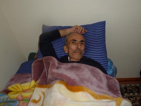 Korucu Mahallesinde Ali Karaca'nın Sağlık Durumu