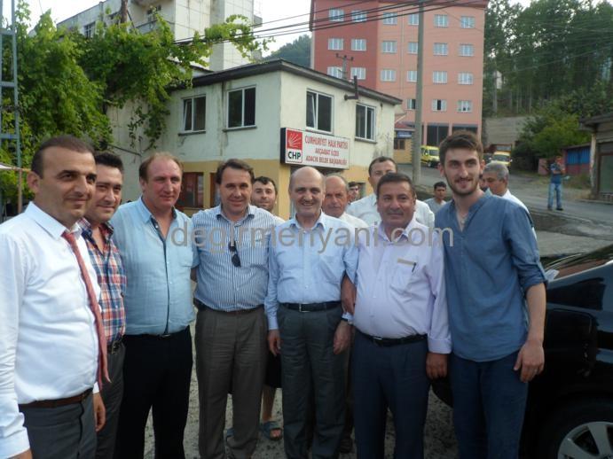 Erdoğan Bayraktar Beldemizi Ziyaret etti