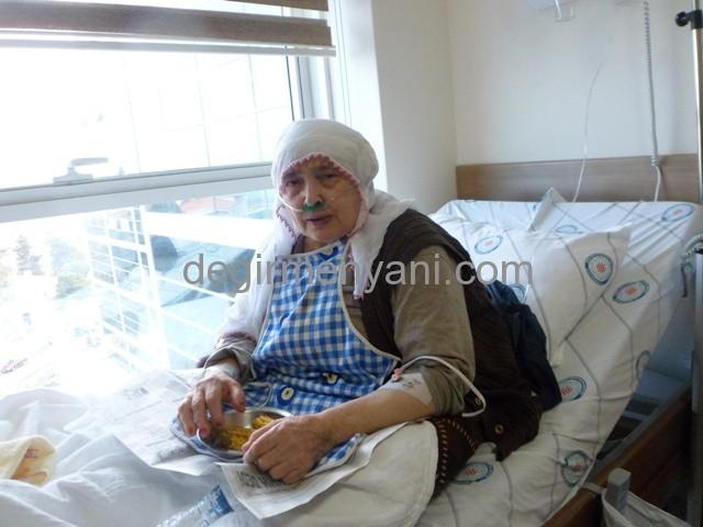 Benlitaş Mahallesinde Hasta