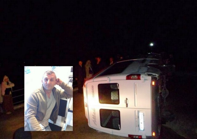 Adacık'ta Korkunç Kaza