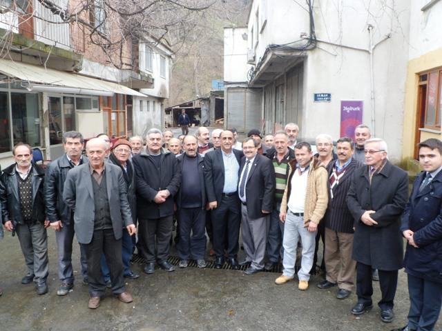 Ali Türel Öztürk Adacık'da