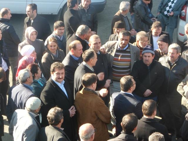 Şefik Türkmen Adacık'da