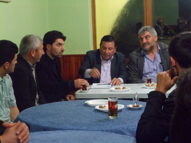 Korucu Mahallesinde Toplantı Yapıldı