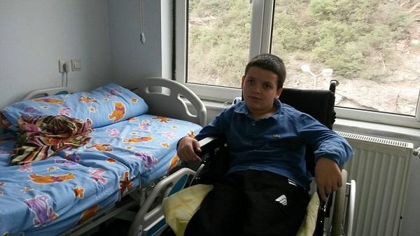 Maçka'da Hastanede Yatıyor