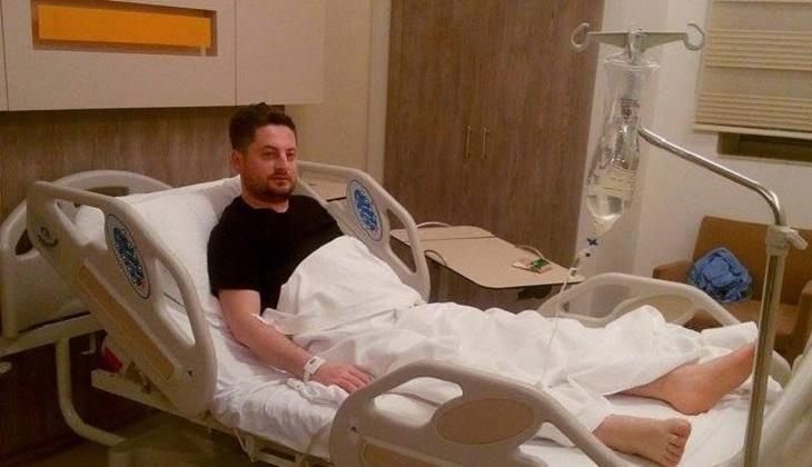 Hüseyin Çağlar Gebze Medicalpark Hastanesinden Taburcu Oldu