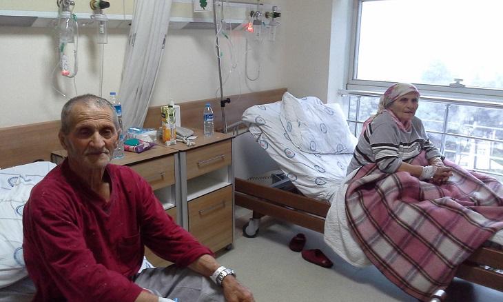 Hastanede Yatıyorlar