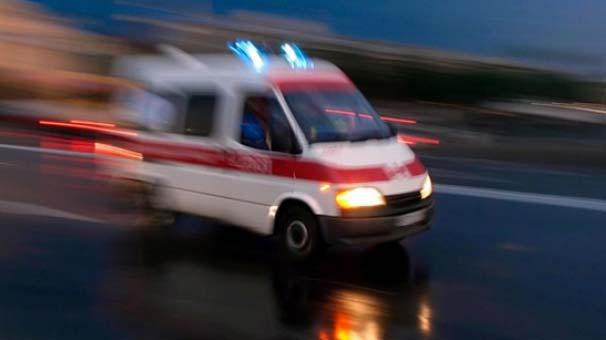 Ambulansla Hastaneye Sevk Edildi