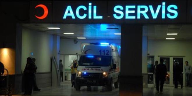 Ankara'da Hastanede Yatıyor