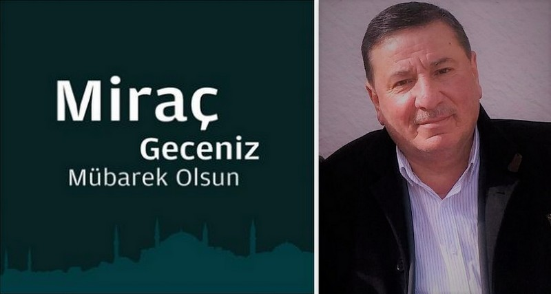 Muhtar Mustafa Fındıkçı'dan Miraç Kandili Mesajı