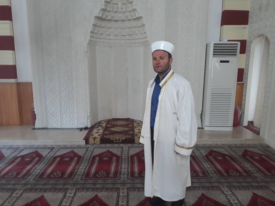 Adacık Merkez Camii'ne Yeni İmam