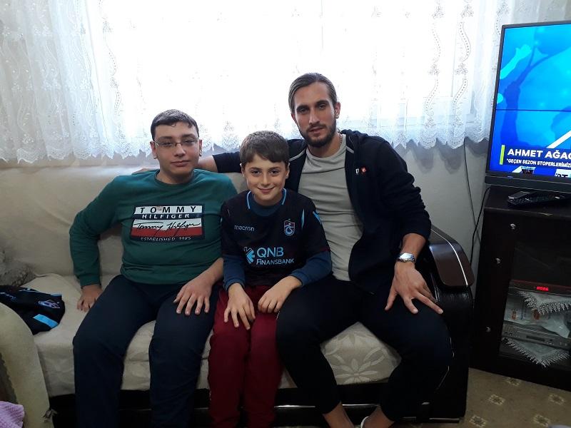 Trabzonspor'lu Genç Oyuncu Yusuf Yazıcı Adacık'ta