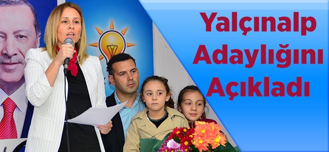 Adacık'lı Arzu Birinci Yalçınap Akçaabat Belediye Başkan Aday Adaylığını Açıkladı!
