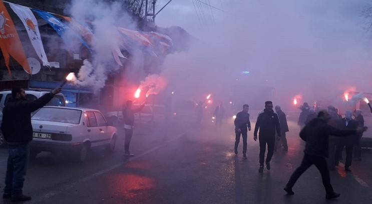 Adacık'ta Zorluoğlu'na ve Ekim'e Muhteşem Karşılama