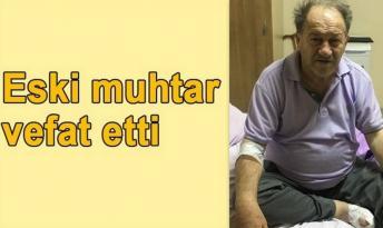 Eski Muhtar Emekli Öğretmen Vefat Etti