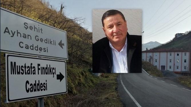 Adacık Mahallesi Mustafa Fındıkçı İsmini Yaşatacak