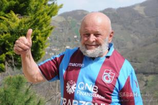 Trabzonlu 'Süper Dede' 83 yaşında! Gençlere taş çıkartıyor