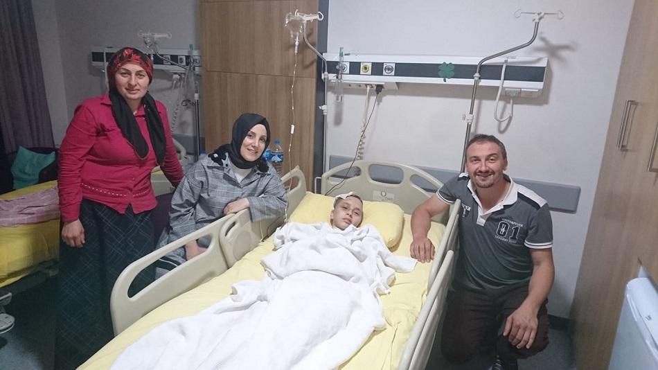 Trafik Kazasında Yaralanmıştı (Taburcu Oldu)